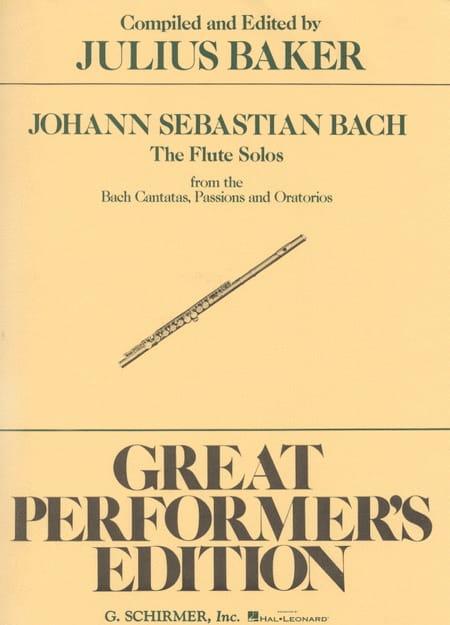BACH - Flute Solos Bach Cantatas, Passions - Oratorios - Partition - di-arezzo.co.uk