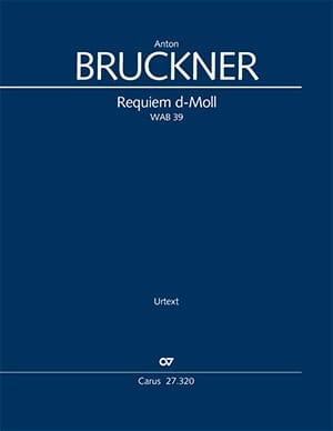 Anton Bruckner - Requiem en ré mineur - Partition - di-arezzo.fr