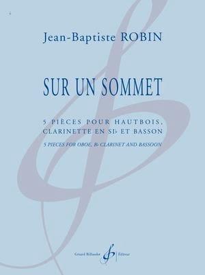 Sur un Sommet - Jean-Baptiste Robin - Partition - laflutedepan.com