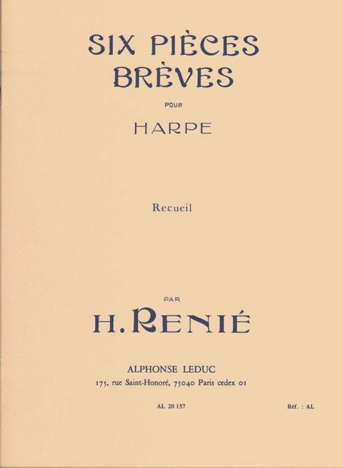 6 Pieces Breves - Henriette Renié - Partition - laflutedepan.com