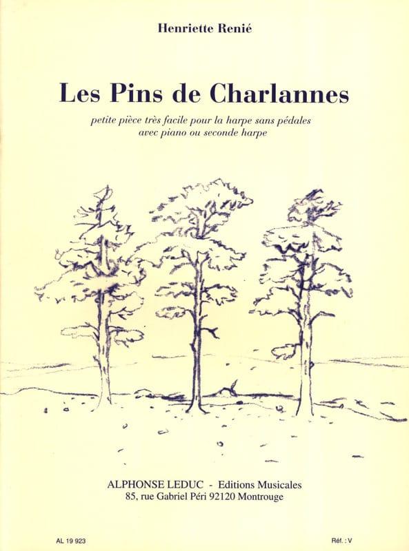 Les Pins De Charlannes - Henriette Renié - laflutedepan.com