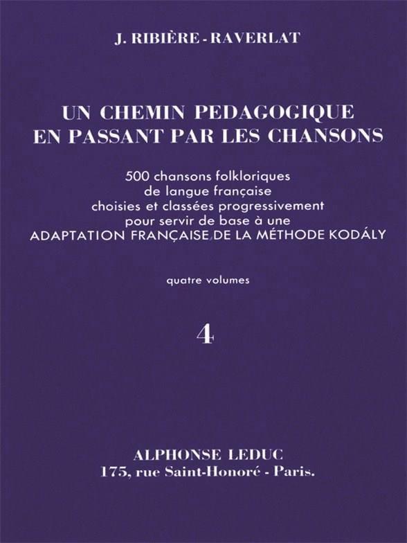 Un chemin pédagogique - Volume 4 - laflutedepan.com