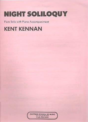 Night Soliloquy - Kent Kennan - Partition - laflutedepan.com