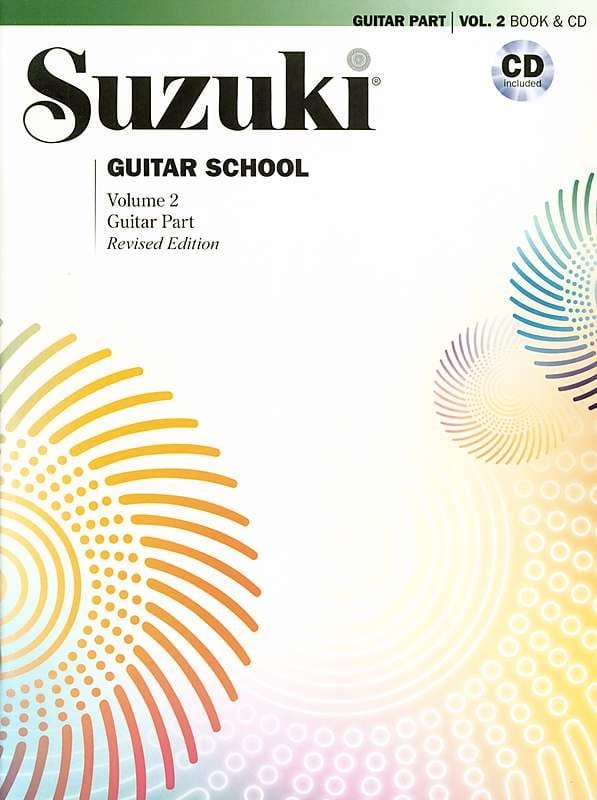 Suzuki Guitar Vol 2 avec CD - Partition - laflutedepan.com