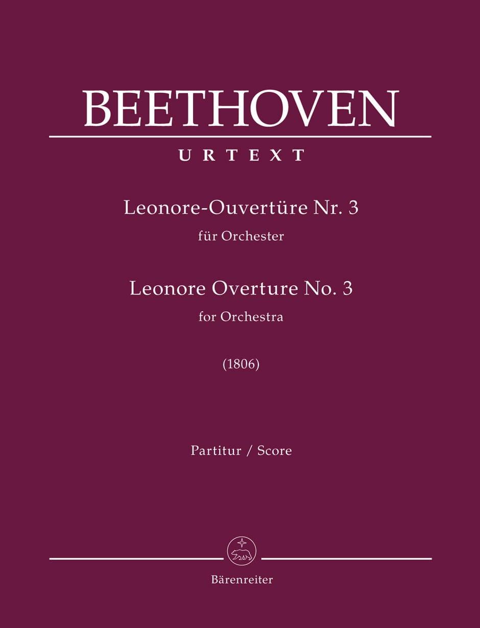 Ouverture Léonore n° 3 - BEETHOVEN - Partition - laflutedepan.com