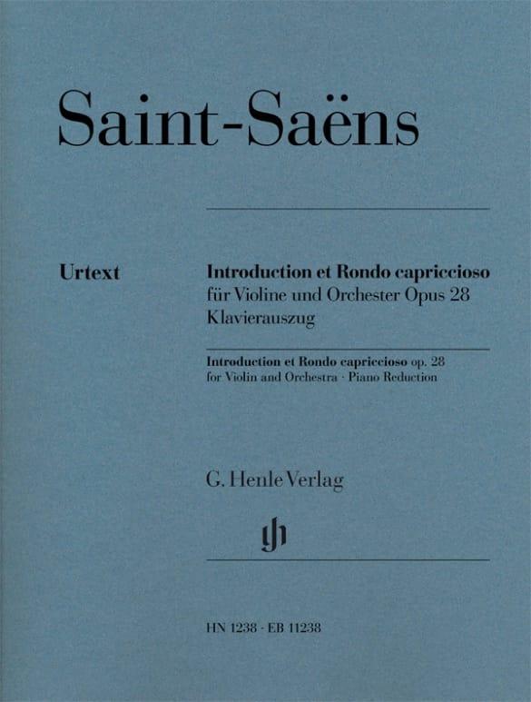 Introduction et Rondo Capriccioso - SAINT-SAËNS - laflutedepan.com