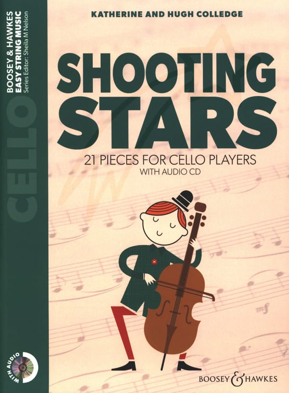 Katherine & Hugue Colledge - Shooting Stars - Cello + CD - Partition - di-arezzo.fr