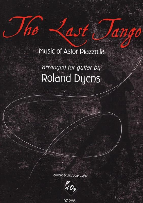 The Last Tango - Guitare - Astor Piazzolla - laflutedepan.com