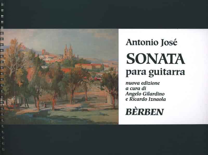 Sonate - Guitare - Antonio José - Partition - laflutedepan.com