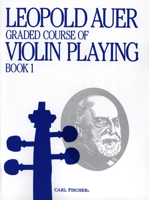 Leopold Auer - Graded Course 1 Violin Playing, Volume 1 - Partition - di-arezzo.co.uk