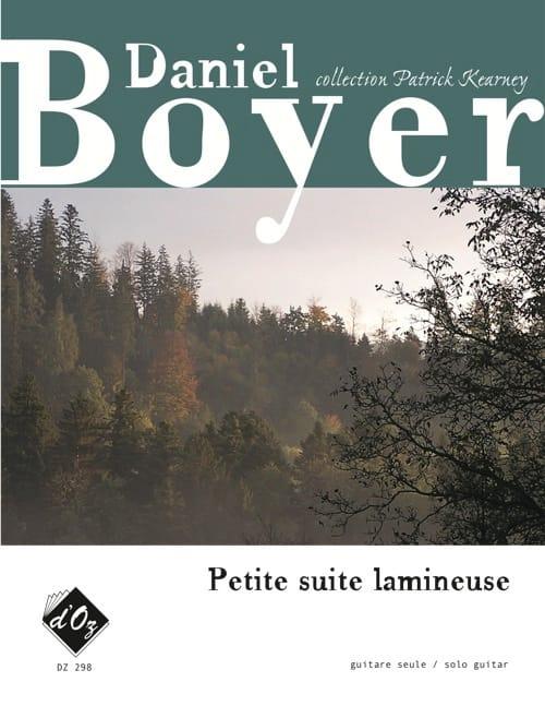 Petite Suite lamineuse - Daniel Boyer - Partition - laflutedepan.com
