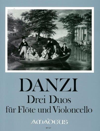 3 Duos, op. 64 - Franz Danzi - Partition - Duos - laflutedepan.com
