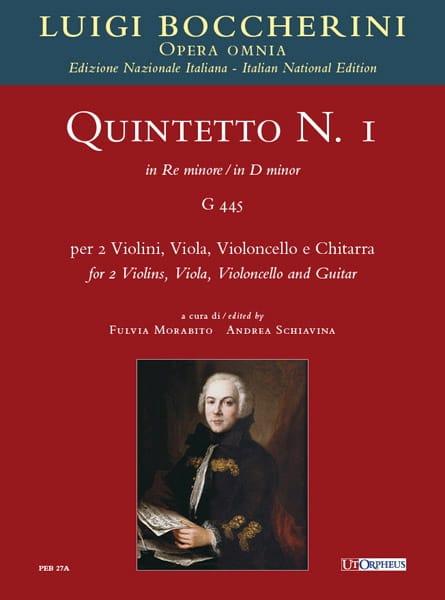 Quintette n° 1 - G 445 - Luigi Boccherini - laflutedepan.com
