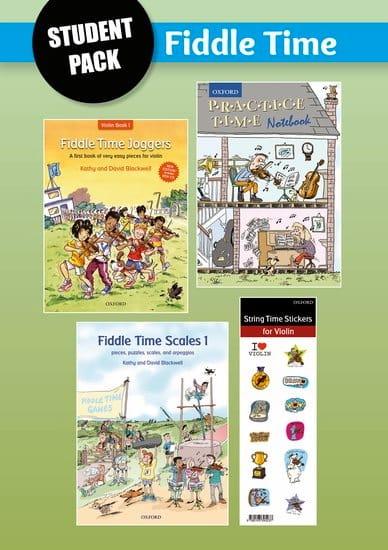 Fiddle Time Joggers + Scales - laflutedepan.com
