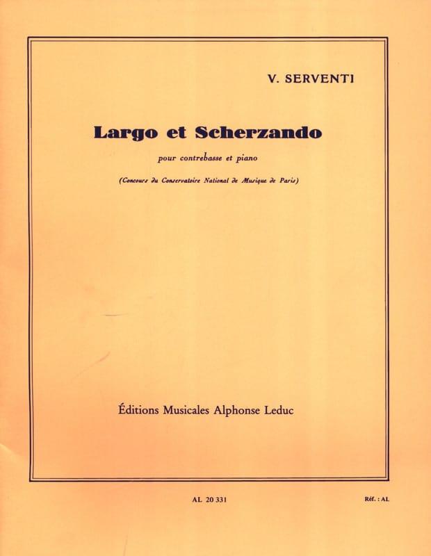 Largo et Scherzando - Victor Serventi - Partition - laflutedepan.com