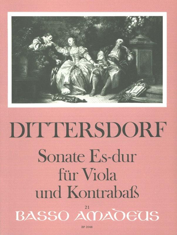 Sonate en Mib Majeur - Carl Ditters Von Dittersdorf - laflutedepan.com