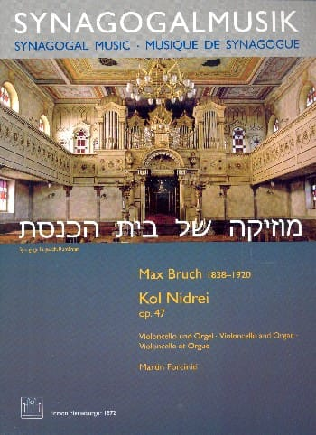 Max Bruch - Kol Nidrei - Cello and Organ - Partition - di-arezzo.co.uk
