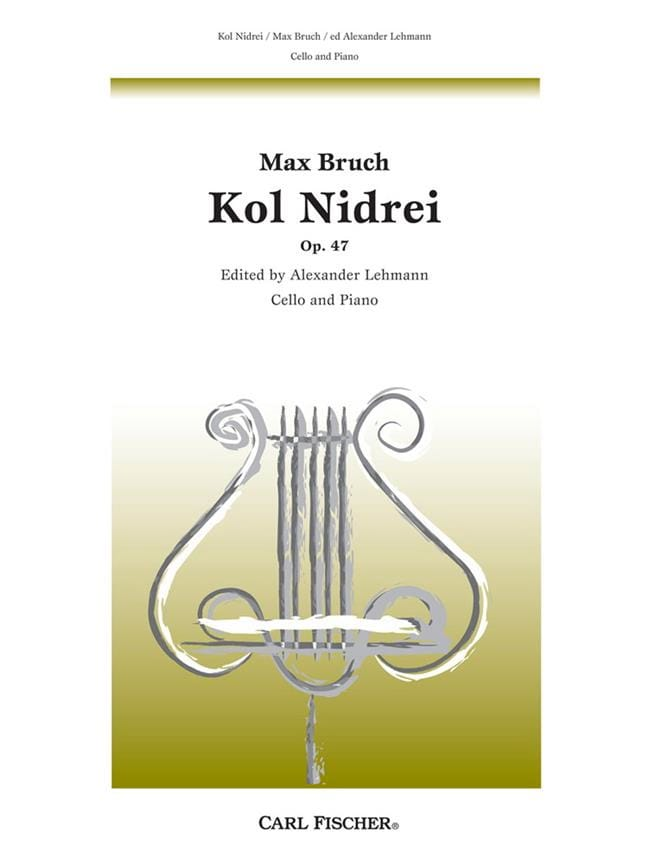 Max Bruch - Kol Nidrei, op. 47 - Partition - di-arezzo.co.uk