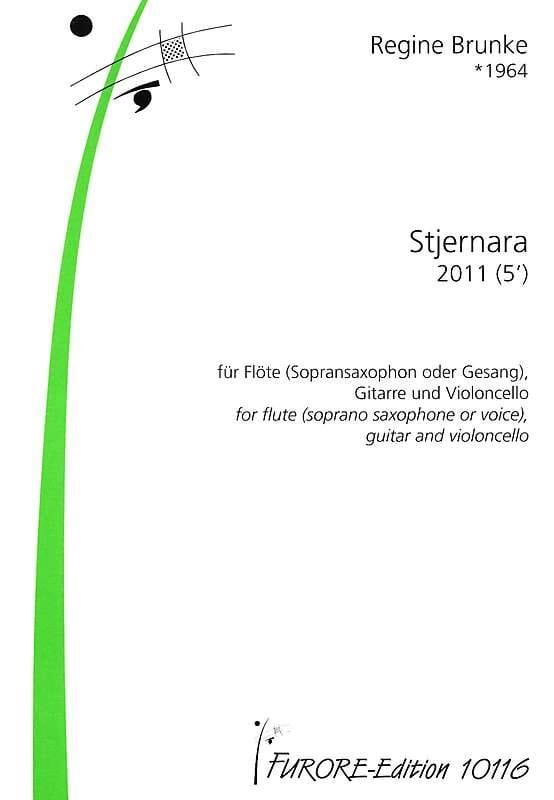 Stjernara - Regine Brunke - Partition - Trios - laflutedepan.com