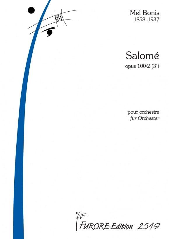 Salomé, op. 100 n° 2 - Mel Bonis - Partition - laflutedepan.com