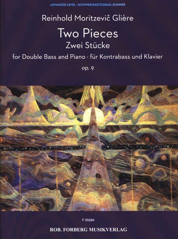 Reinhold Glière - 2 Pieces, Opus 9 - Partition - di-arezzo.co.uk