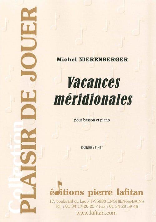 Vacances méridionales - Michel Nierenberger - laflutedepan.com