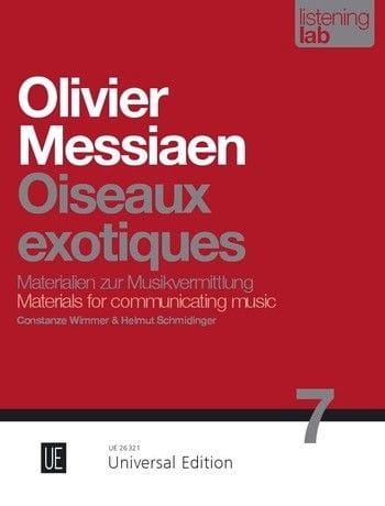 Oiseaux Exotiques - Analyse - MESSIAEN - Livre - laflutedepan.com
