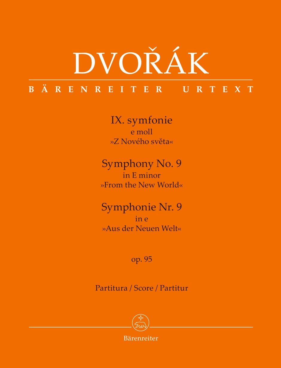 DVORAK - New World Symphony - Partition - di-arezzo.co.uk