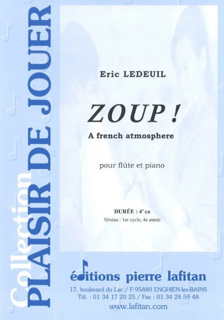 Eric Ledeuil - Zoup! - Partition - di-arezzo.es