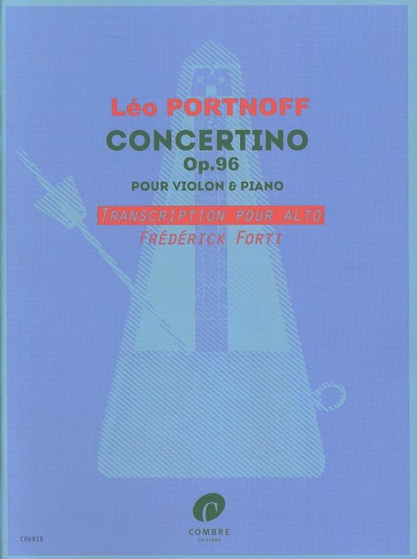 Leo Portnoff - Concertino - Partition - di-arezzo.ch