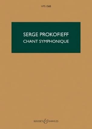 Serge Prokofiev - Canción sinfónica - Partition - di-arezzo.es