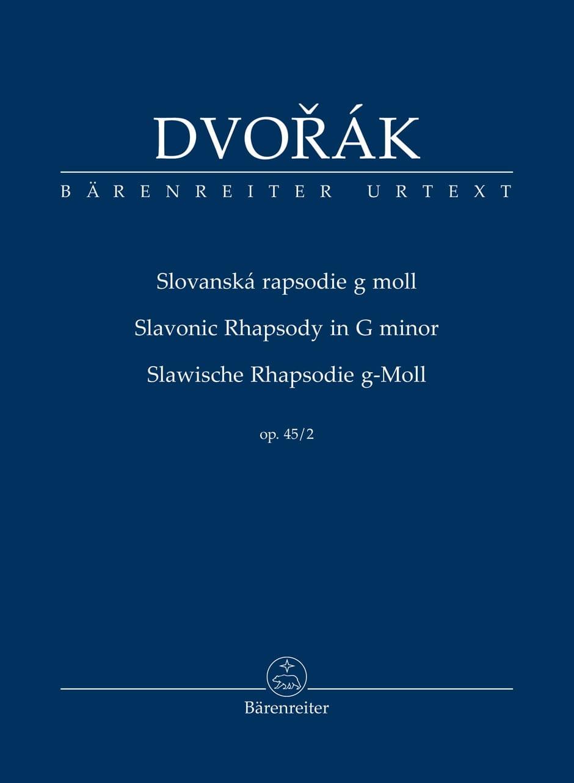 Rapsodie Slave, opus 45 n° 2 - DVORAK - Partition - laflutedepan.com