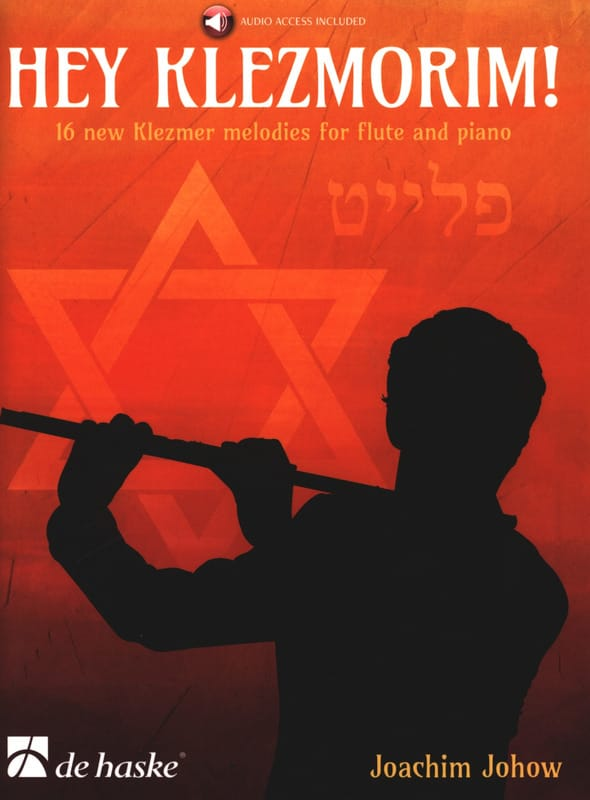 Joachim Johow - Hey Klezmorim! - Flute and Piano - Partition - di-arezzo.co.uk