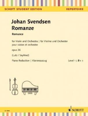 Romance, opus 26 - Johan Severin Svendsen - laflutedepan.com