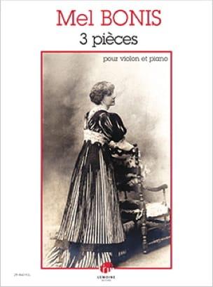 Mel Bonis - 3 pieces - Partition - di-arezzo.co.uk