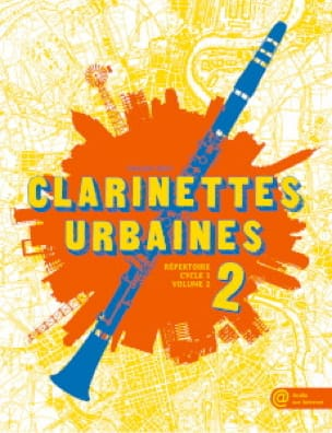 Emilien Véret - Urban Clarinets Volume 2 - Partition - di-arezzo.co.uk