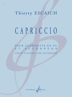 Capriccio - Thierry Escaich - Partition - laflutedepan.com