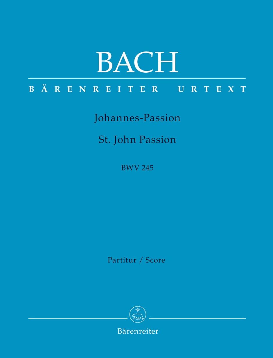 Johann Sebastian Bach - Passion according to St-Jean, BWV 245 - Partition - di-arezzo.com