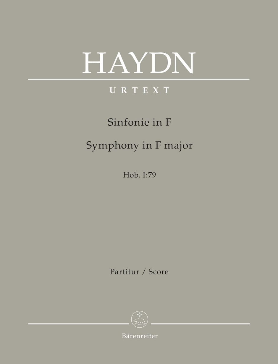 Symphonie n° 79 - Joseph Haydn - Partition - laflutedepan.com