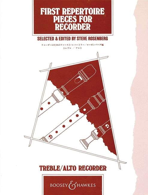 First repertoire pieces for treble recorder and piano - laflutedepan.com