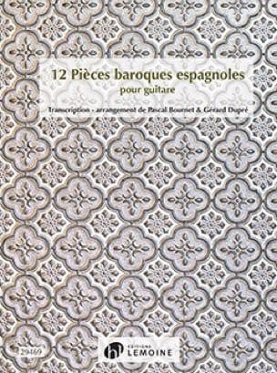 12 Pièces Baroques Espagnoles - Partition - laflutedepan.com