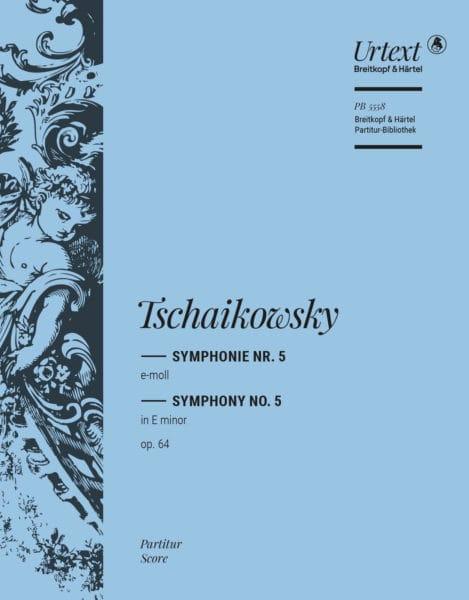 Symphonie n° 5 - TCHAIKOVSKY - Partition - laflutedepan.com