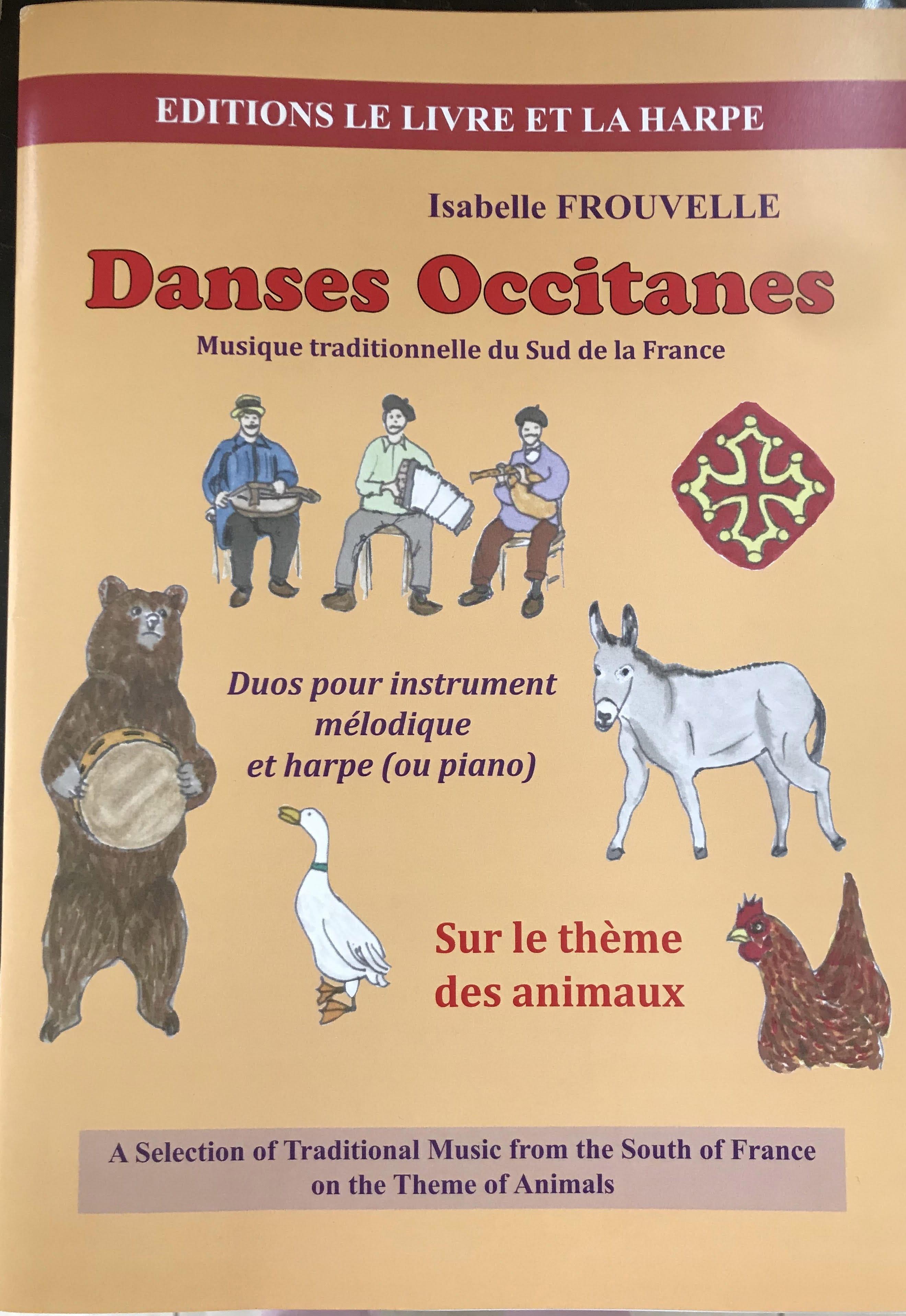 Danses Occitanes - Isabelle Frouvelle - Partition - laflutedepan.com
