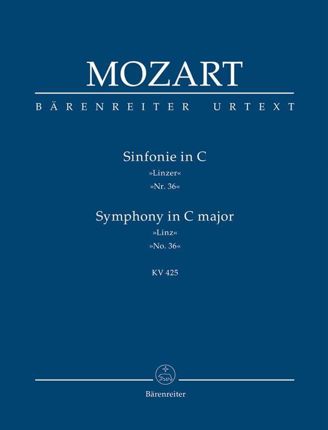 Symphonie Nr. 36 C-dur Linzer KV 425 - Partitur - laflutedepan.com
