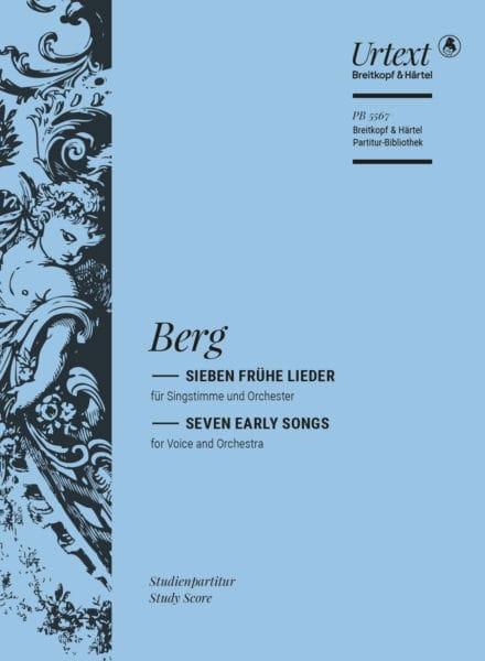 Alban Berg - Sieben frühe lieder - Partition - di-arezzo.com