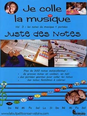Philippe Kaczmarek - I stick the music - Vol. 3: musical notes, staves - Partition - di-arezzo.com