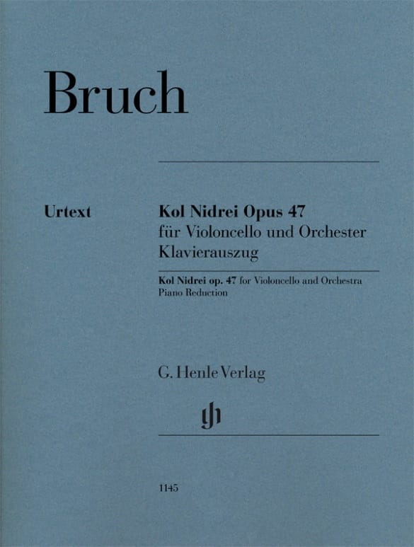 Max Bruch - Kol Nidrei, opus 47 - Partition - di-arezzo.co.uk