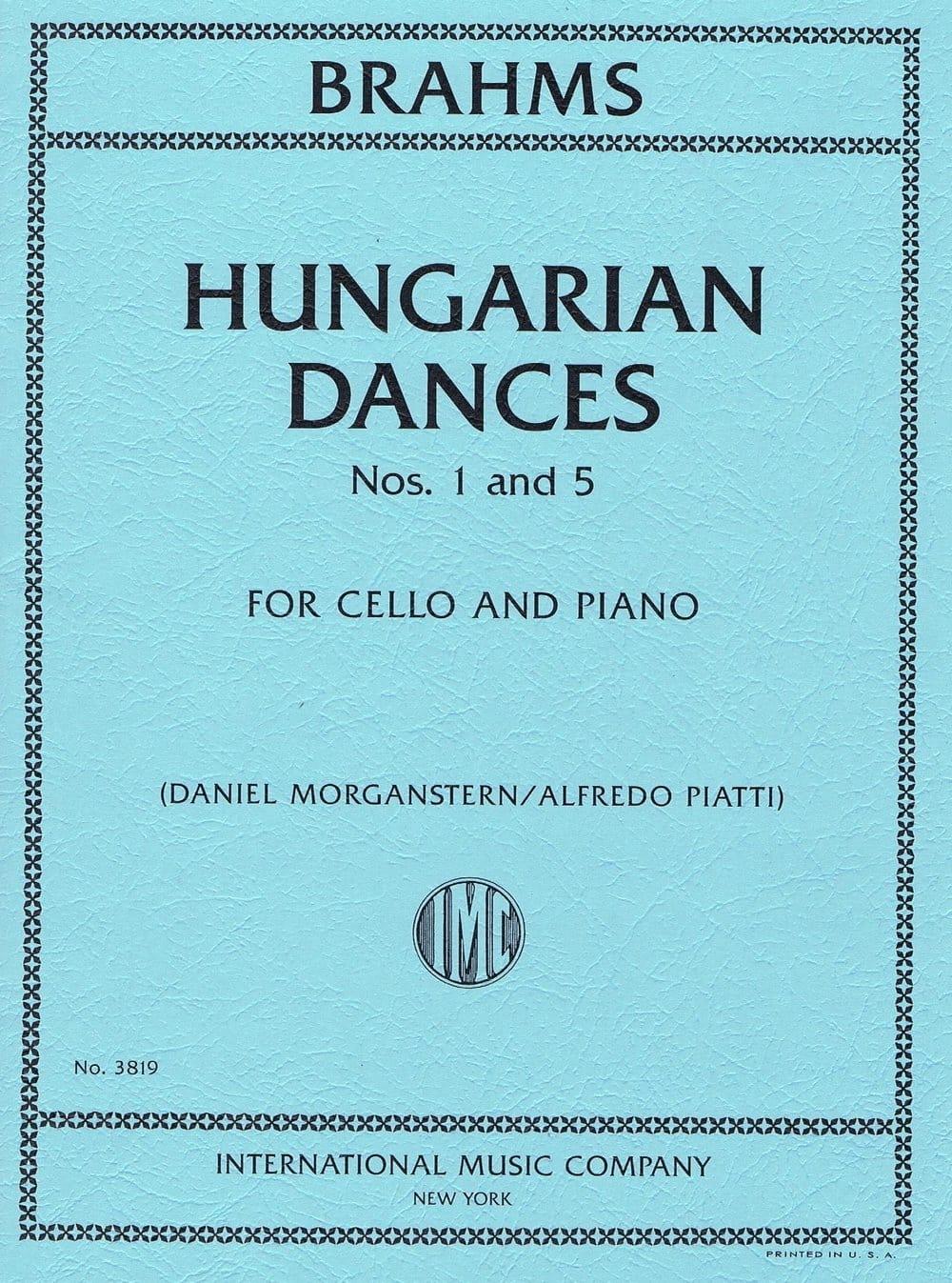 Danses Hongroises N° 1 et 5 - BRAHMS - Partition - laflutedepan.com