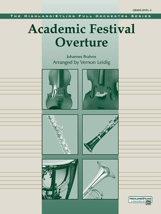 Academic Festival Overture - BRAHMS - Partition - laflutedepan.com