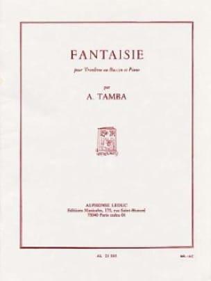 Fantaisie - Akira Tamba - Partition - Basson - laflutedepan.com
